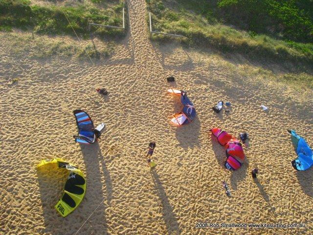 Kitesurfing in Sydney & Australia