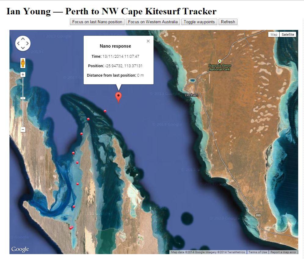 Crossing Shark Bay